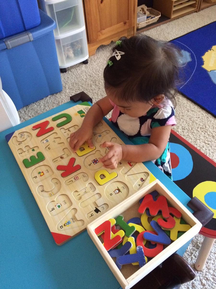 My In Home Montessori Setting