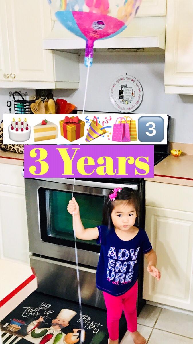 Audrey Turns Three!