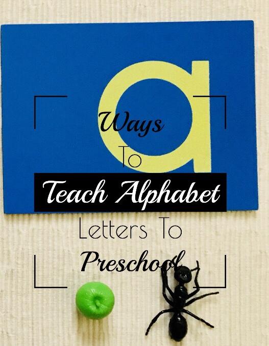 Ways To Teach Letters ToPreschool